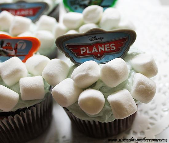 Cloud Cupcakes Close Up