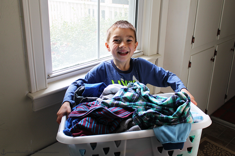 Wisk Deep Clean Laundry Basket