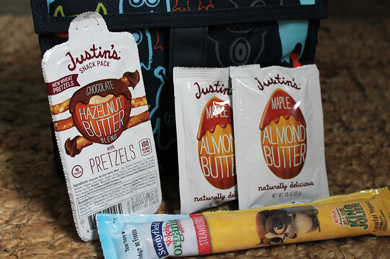 Stonyfield and Justin's Snacks
