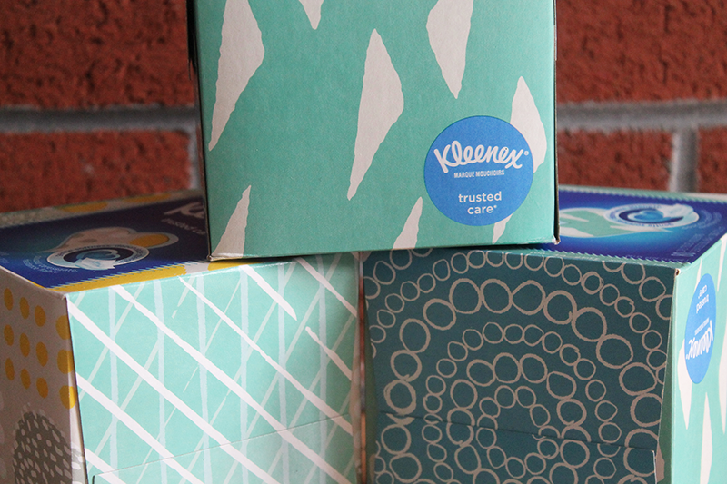 Kleenex Close up