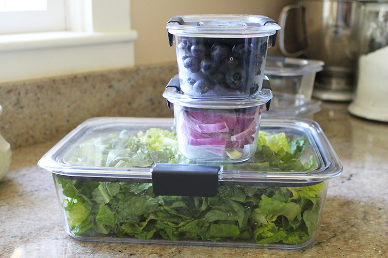 Rubbermaid BRILLIANCE meal prep
