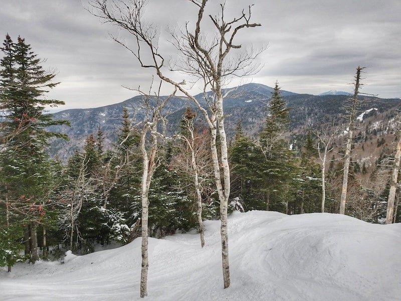 Bolton Valley Vermont Snowy Scene