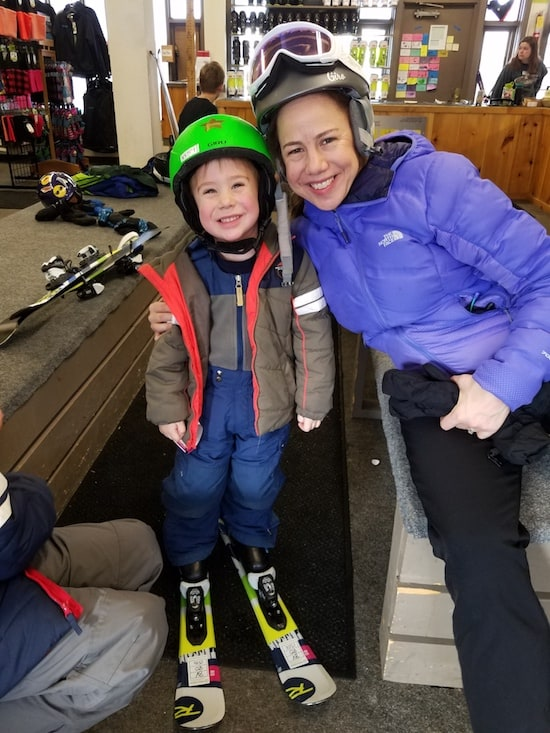 Little Tots Ski Lessons Bolton Valley