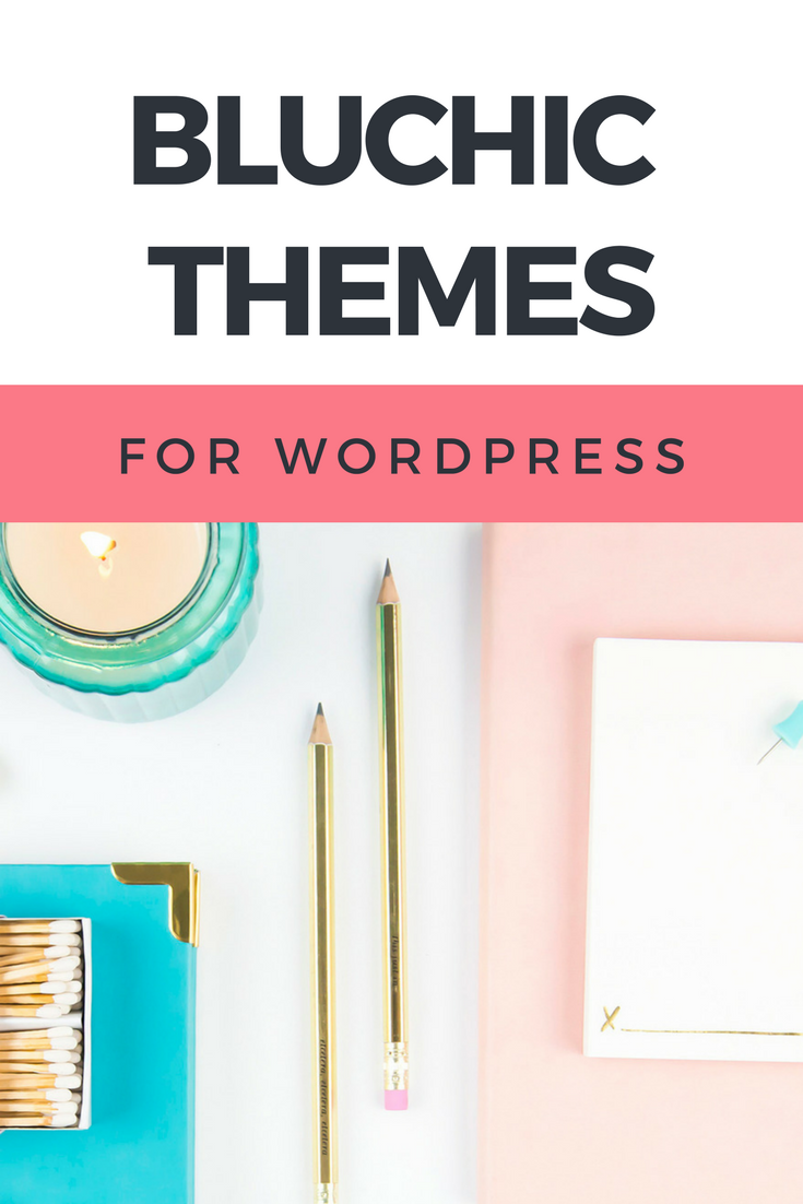 Bluchic Feminine WordPress Themes