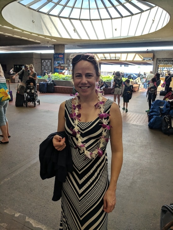 Arriving at Kahului Airport